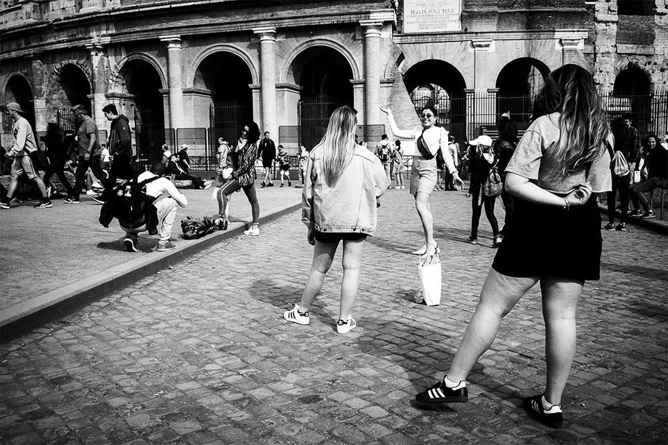 Travel photography by Nicola Tanzini, Street Diaries, Rome.